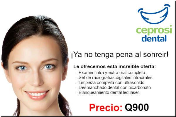 Oferta blanqueamiento dental guatemala